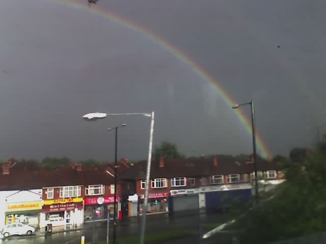 Rainbow over Wilmslow